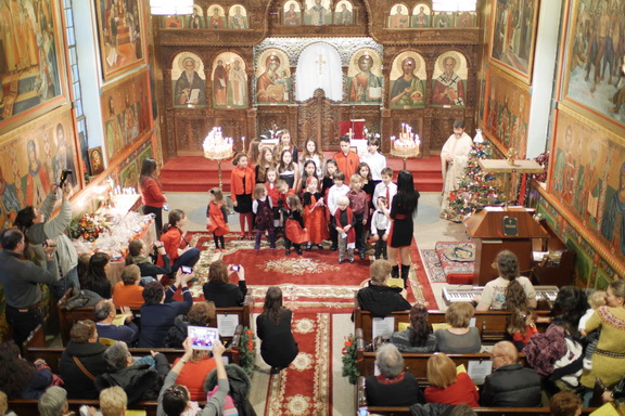 YBVNY Christmas Concert at the eastren Orthodox BUlgarian Cathedral New York